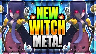 NEW WITCH BUFF is INSANE!! UNDEFEATED NEW WITCH DECK!! Clash Royale Witch Deck 2018
