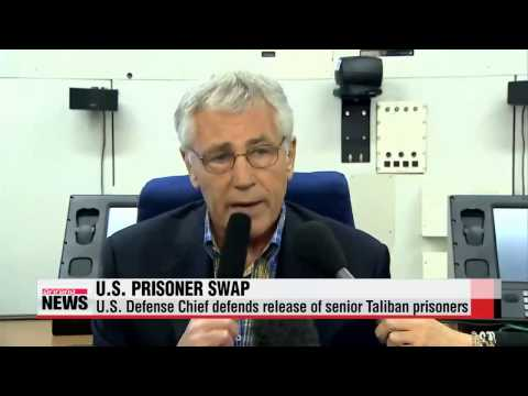 U.S. defense chief hopes prisoner swap brings Taliban breakthrough