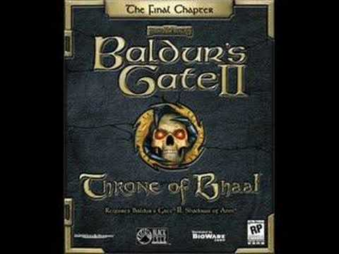 Baldur's Gate 2 Throne of Bhaal Main Theme