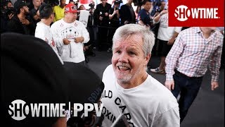 Freddie Roach Media Workout Interview | SHOWTIME PPV