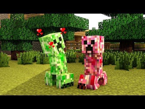 A Vida de Um Creeper Minecraft Animação // The Life of a Creeper Minecraft Animation