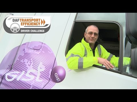 DAF Transport Efficiency Driver Challenge - Meet the Finalists: Kevin Nicholls