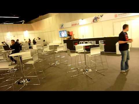 MWC 2012 Behind the Scene Pressezentrum