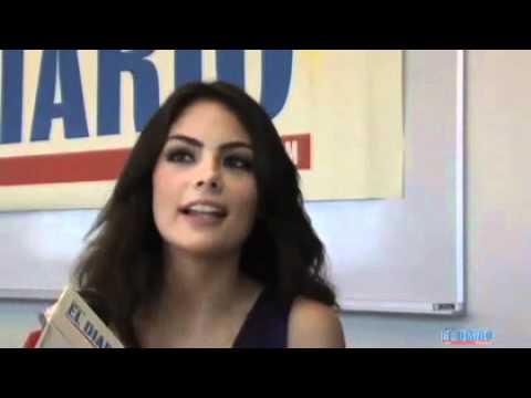 Miss Universe 2010 at El Diaro La Prensa NY