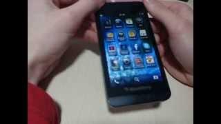 Обзор BlackBerry Z10/BlackBerry OS10 (2014). Мои впечатление от него.