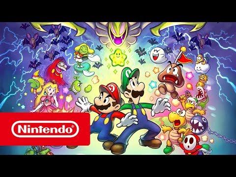Mario & Luigi: Superstar Saga + Bowsers onderdanen - Releasetrailer (Nintendo 3DS)