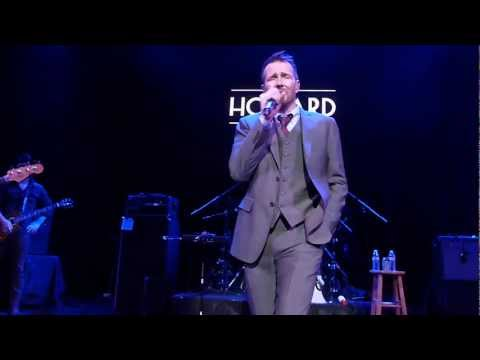 "Scott Weiland - ""Paralysis"" Live at The Howard Theatre on 3/11/13, Song #4"
