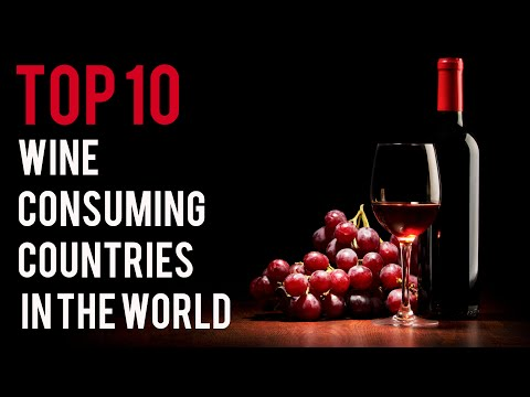 Top 10 : Wine Consuming Countries in the World