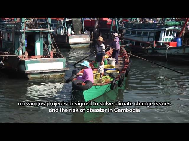 Climate Change Adaptation in Cambodia with the Government of Sihanoukville at UN Habitat
