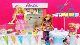 Barbie ıce cream shop - How to Make a Doll  Ice Cream Shop