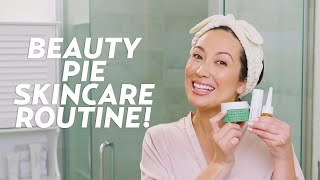 Full Nighttime Skincare Routine Using ONLY Beauty Pie! (My Review) | #SKINCARE