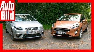 Ford Fiesta vs Seat Ibiza (2017) - Kleinwagen-Duell