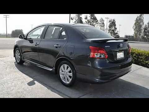 2009 toyota yaris s sedan 4d fontana nissan youtube. Black Bedroom Furniture Sets. Home Design Ideas