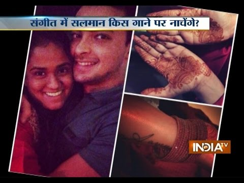 Salman Khan's younger sister Arpita's Mehandi ceremony takes off