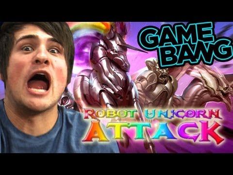 ROBOT UNICORN TATTOOS (Game Bang)