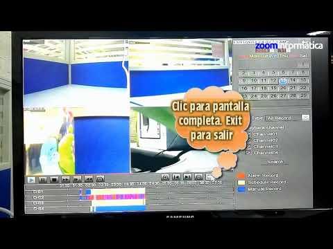 Como reproducir video en NVR Foscam desde monitor