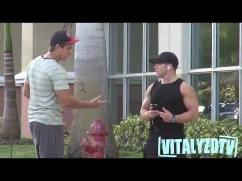 Are You On Steroids? [Vitalyzdtv Prank]