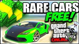 GTA 5 Rare Cars : FREE RARE CARS 1.37 - Secret Storeable Vehicles (GTA 5 Online Rare Cars Guide)