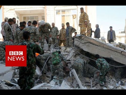 Iran-Iraq border earthquake is deadliest of 2017 - BBC News
