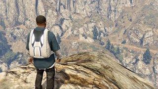 Grand Theft Auto V - Parachute Jump #9 - Razor Rock Dive