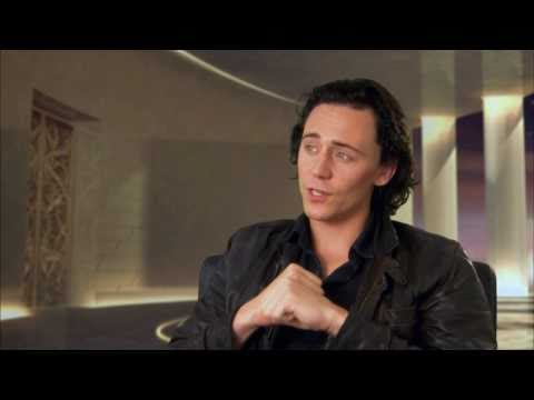 "Tom Hiddleston Talks Playing ""Loki"" In"