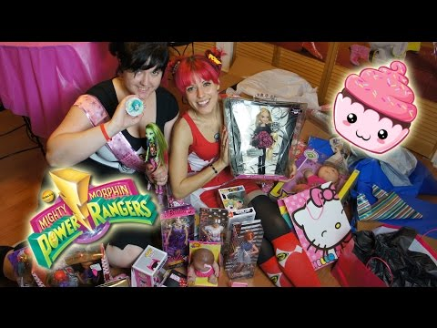 Power Rangers Birthday Party and Presents Opening!!!!