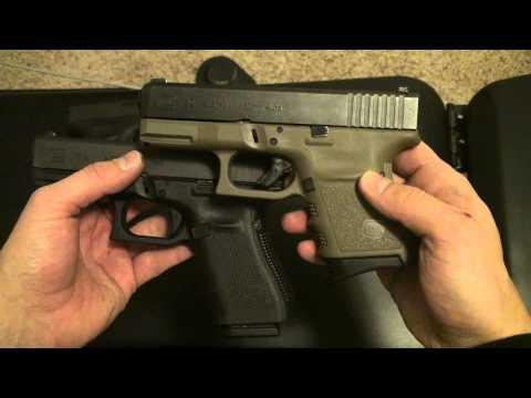 Glock 29 vs Glock 19 and Glock 26