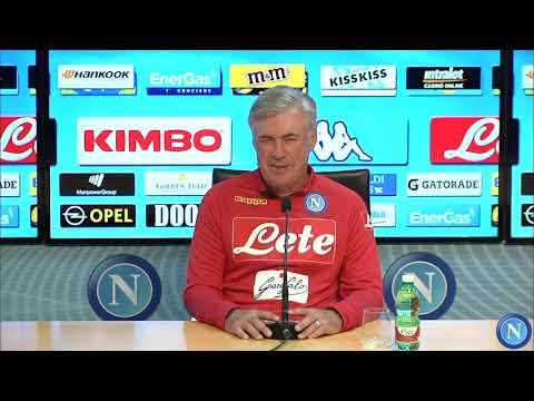 conferenza stampa alla vigilia di Juventus - Napoli