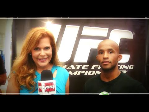 MMA FIGHTER DEMETRIOUS JOHNSON ON HIS UFC ON FX3 FIGHT