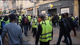 Gilets Jaunes Bordeaux 09-02-19 RAVAGE