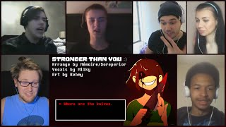 """Stronger Than You - Chara Response"" By Milkychan Reaction Mashup"