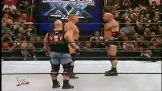 Goldberg Vs. Brock Lesnar Highlights - Wrestlemania 20