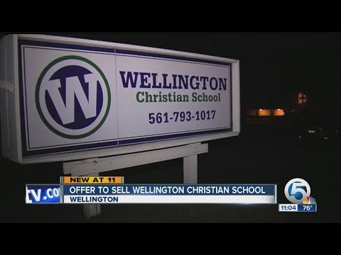 Offer to sell Wellington Christian School