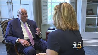Ed Rendell Discuss His Battle With Parkinson's Disease