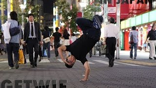 FRESH TRAVEL | BBOY GETWIE IN JAPAN 2014 .feat Slumdog Apparel