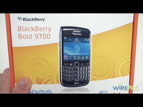 BlackBerry Bold 9700 (AT&T) Unboxing & Quick Hands-on