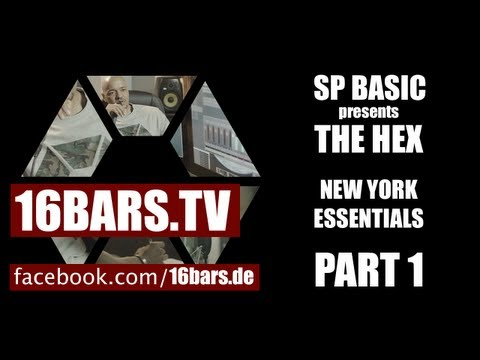 Mit Tone im Studio - SP Basic presents The Hex #1 (16BARS.TV)