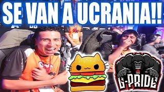 ¡HISTORICO! G-PRIDE vs ANVORGUESA - SE VAN A UCRANIA!!!! -  STARLADDER MINOR SA DOTA 2