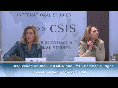Discussion on the 2014 QDR and FY15 Defense Budget