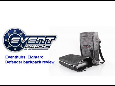 Eventhubs.com reviews| Eightarc (Qanba) Defender Arcade Stick Backpack