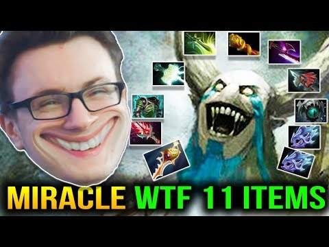 Miracle WTF 1000 GPM 11 Slotted in 1 Hour COMEBACK Dota 2 7.11