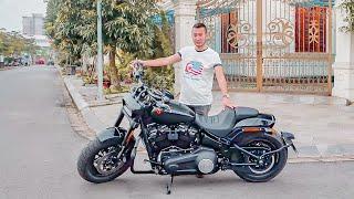 Đánh giá Harley-Davidson Fat Bob - giá giảm hơn 200 triệu | XEHAY