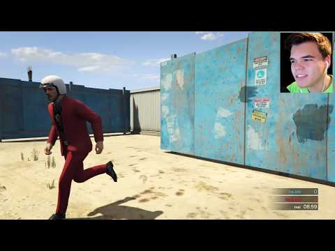 GTA 5 Xbox One - Extreme First Person Maze Hunt (GTA 5 Funny Moments)