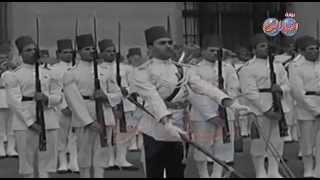 فيديو نادر .. لاستقبال الملك فاروق لزوجتة الملكة ناريمان ج3