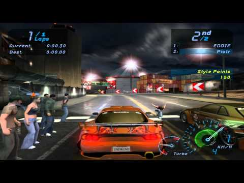 Need For Speed Underground Final Race HD Music Videos