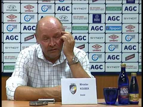 Tisková konference hostujícího trenéra po utkání s Plzní (14.8.2015)