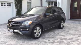 2014 Mercedes Benz ML350 Luxury SUV Review and Test Drive by Bill Auto Europa Naples