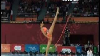 Naazmi Johnston 2010 Commonwealth Games Rope Team Final