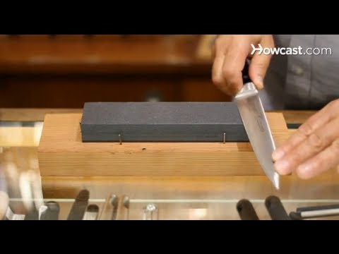 How To Use A Sharpening Stone Knives Youtube