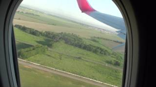 flight: Almaty - Moskow (takeoff and landing), pax view 2013